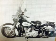 SCPD Motorbike from 1960's