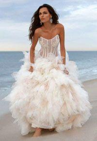 beach wedding dress - Google Search