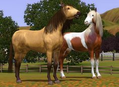 thesims3 pretty horses | Sims 3 downloads from all over the world Custom Content Sites!