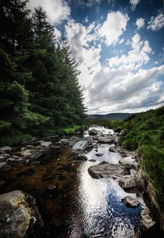 Lets Image: Clean Stones Run Around, Getting Out, Travel Around, Ireland, Stones, Cleaning, River, Nature, Outdoor