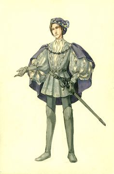 Persons of the Drama:Prince Ferdinand, Alonso's son. [Final Version by Kutty-Sark on DeviantArt]