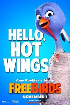 Meet The Birds: 4 New Character Posters For FREE BIRDS