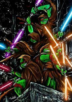 Jedi turtles