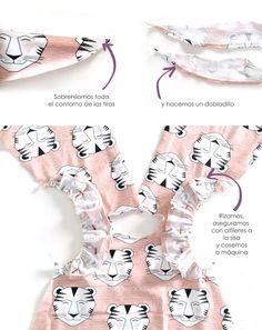 Vestido de bebé - Patrón y tutorial DIY