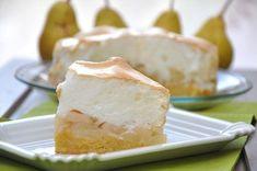 Das Rezept für frische Baisertorte mit Birnen kombiniert die Süße des Baisers mit der Frische der Birnen.