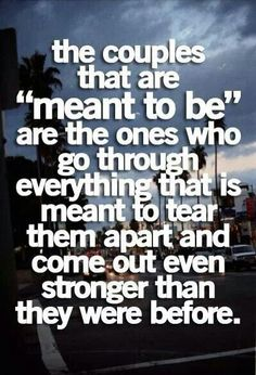 Very true, stronger & more in love than ever! Even if some can't accept it...