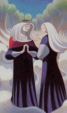 Dante Tarot - Two of Lights (=Cups)