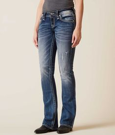 Rock Revival Effie Boot Stretch Jean - Women's Jeans in Effie B202 | Buckle