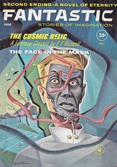 Fantastic. June 1961 Cover Art. Alex Schomburg