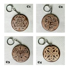 Celtic pyrography customizable wooden key chain by YANKAcreations, $9.90 Great gift for St. Patrick's Day! Buy now and get it before the holiday! Wooden Keychain, Personalized Gifts For Her, Key Fobs, Key Chain, Celtic Designs, Cheap Gifts, Wood Design, Craft Items, Pyrography