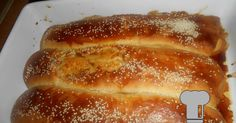 Hot Dog Buns, Hot Dogs, Greek Recipes, French Toast, Favorite Recipes, Bread, Baking, Breakfast, Sweet