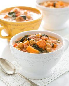 10-Spice Vegetable Soup (Freezer Friendly, #vegan, Gluten-Free) — by Oh She Glows #osgcookbook #glutenfree #soup