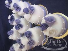 Mini Bolos Individual Wedding Cakes, Desserts, Mini Pastries, Art Cakes, Tailgate Desserts, Deserts, Postres, Dessert, Plated Desserts