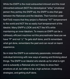 Yeah, that sounds about right. ENFP- Introverted Extrovert- Innovative