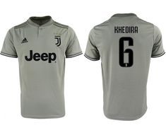597546911a1 Men s Juventus Jersey  6 Sami Khedira Jersey Away Soccer 2018 2019 Season