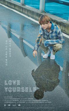 V! ❤ LOVE YOURSELF Poster! (ㅏ브 ㅣㅣ) #LOVE_YOURSELF #BTS #방탄소년단