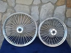"21X3.5"" & 16X3.5"" DNA MAMMOTH 52 SPOKE WHEEL SET FOR HARLEY SOFTAIL & TOURING"