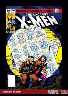 "X-MEN #141- ""NUFF SAID"""
