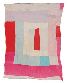 Creola Bennett Pettway - Medallion variation, tied with yarn - Master Image