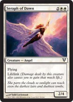 Magic: The Gathering - Seraph of Dawn - Avacyn Restored