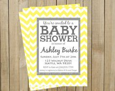 invite to go with mother-to-bee theme