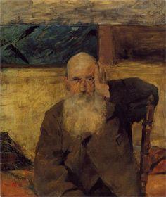 Old Man at Celeyran - Henri de Toulouse-Lautrec, 1882