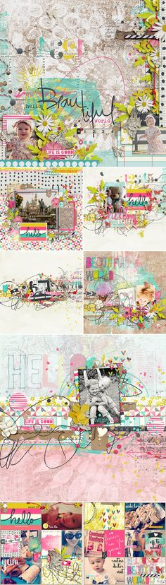CT INSPIRATION using Hello Beautiful World: Bundle by Studio Basic
