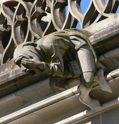 The gargoyles and grotesques are fascinating architectural sculptures that can be found on many buildings. The difference between the gargoyle and grotesqu