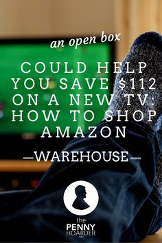 If you don't mind minor imperfections or already-opened packaging, shopping at Amazon Warehouse could save you serious cash. Who cares about a little scratch or a banged-up box when you're saving hundreds of dollars? - The Penny Hoarder http://www.thepennyhoarder.com/amazon-warehouse/