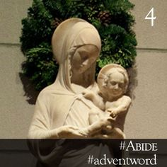 #AdventWord #Abide || God longs for a temple, not of stone and light, but of flesh and blood and a heart of full of love. Like Mary, you are God's temple, for when you say 'yes' to God you open yourself to God and God's glory abides in you; when you say 'yes' to God, the Word is made flesh and dwells among us. Br. James Koester || @SSJEWord: Post prayerful images with the #adventword hashtag on Twitter and Instagram to create a Global Advent Calendar. Check out www.aco.org/adventword.cfm