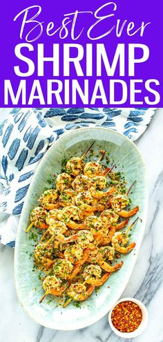 This is the Best Ever Shrimp Marinade, perfect for the grill and equally delicioussautéed. You'll want to make this lemony garlic shrimp over and over! #shrimpmarinade #summergrill Shrimp Marinade, Marinated Shrimp, Garlic Shrimp, Roasted Vegetable Pasta, Roasted Vegetables, Shrimp Recipes For Dinner, Meal Prep For The Week, Fries In The Oven, How To Cook Shrimp