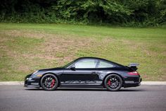 Porsche 911 GT3 RS US-spec 997 coupe cars black 2007 wallpaper background