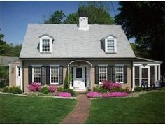 cape cod house exterior design. Royal Barry Wills design  For sale on Cape Cod Love the perfect dimensions and size Home Style exterior cape cod Pinterest