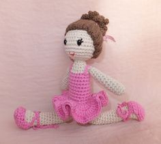 Three months ago I published the  ballerina amigurumi pattern . The sites  Patrones amigurumi and Great amigurumi  also published it. Resu...