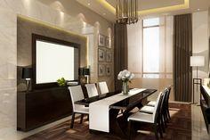 #modern #conceptual #design #harmony #new #diningroom #luxury #simple
