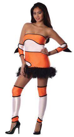 Adult Naughty Nem-Oh Costume - Playboy - Clearance Costumes ...