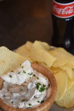 Onion and Chive Dip- tessashome.com