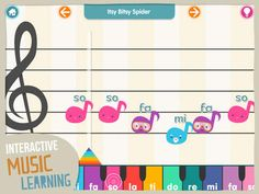 New app for kids - Kids Music Factory for iPhone & iPad Music Factory, Itsy Bitsy Spider, News Apps, Music For Kids, Music Lovers, Ipad, Activities, Iphone, Learning