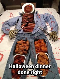 Halloween dinner done right!