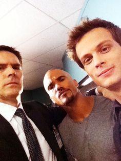 Hotch, Morgan and Reid