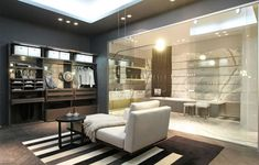 Walk in wardrobe and ensuite bathroom Walk In Wardrobe, Walk In Closet, Bedroom With Ensuite, Master Bedroom, My Dream Home, Future House, Home Goods, Sweet Home, House Design