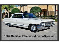 1962 Cadillac Fleetwood Sixty-Special 4 Door Auto Refrigerator / Tool Box Magnet