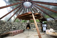 Muennigs Modern One Room House by Mickey Muennig in Big Sur, CA, inspired by the 1976 style (2012)