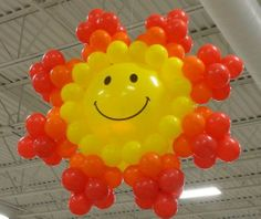 Our design of the SUN!!! by STEWART's Baskets & Balloons www.reli-a-drop.com