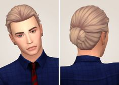 Tranquility Sims: Eli hair recolored  - Sims 4 Hairs - http://sims4hairs.com/tranquility-sims-eli-hair-recolored/