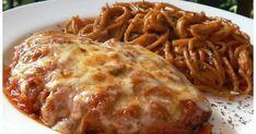Une excellente recette qui avait été donnée par Lauraine et qui sera à refaire!! J'ai servi avec un sachet de pâtes aux tomates et basilic.... Lasagna, Poultry, Macaroni And Cheese, Food To Make, Spaghetti, Food And Drink, Favorite Recipes, Healthy Recipes, Healthy Food