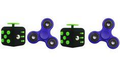 Fidget Cubes & Spinners