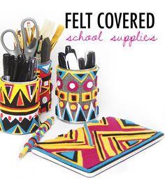 alisaburke- felt covered school supplies