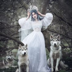 ghostly beauty by Margarita Kareva on 500px #snow queen