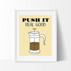 Coffee Print Coffee Printable Wall Art Kitchen by SaveAndPrint #coffeeprint #coffeelover #kitchendecor #funny #nerd